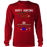 Happy Hunting Ugly Christmas Sweater - Vietees Shop Online