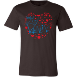 Be My Valentine - Love Love Love T-shirt - Vietees Shop Online