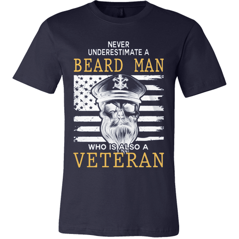 BEARD MAN - VETERAN - Vietees Shop Online