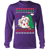 Christmas Ugly Sweater - SHIH TZU DOG - Vietees Shop Online - 13