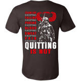 Veterans - Quitting is not T-shirt - Vietees Shop Online