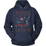 Damn Ugly Christmas Knit Style Sweater Hoodie - Vietees Shop Online