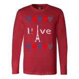 Peace and pray for paris ugly christmas sweater xmas - Vietees Shop Online - 6