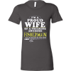 Image of I'm proud Wife of Fisherman - Vietees Shop Online