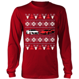 Racing Car Ugly Christmas Sweatshirt - Vietees Shop Online - 15