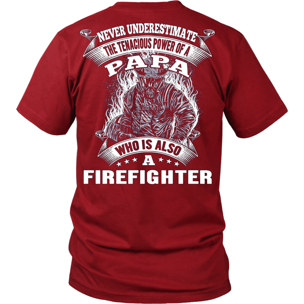 PAPA FIREFIGHTER - Vietees Shop Online
