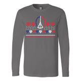Peace and pray for paris ugly christmas sweater - Vietees Shop Online