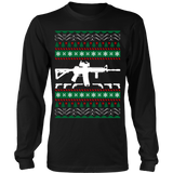 Ar 15 ar15 ugly christmas sweater xmas - Vietees Shop Online - 6