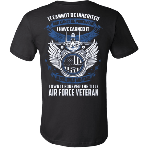 AIR FORCE VETERAN - Vietees Shop Online