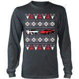 Racing Car Ugly Christmas Sweatshirt - Vietees Shop Online - 10