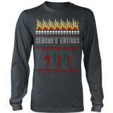 Zombie ugly christmas sweater - Vietees Shop Online - 9