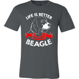 Life Is Better with a Beagle - Vietees Shop Online