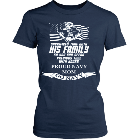 Navy Mom ( Son ) - Vietees Shop Online