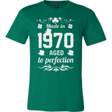 Made in 1970 Aged to Perfection T-shirt - Vietees Shop Online