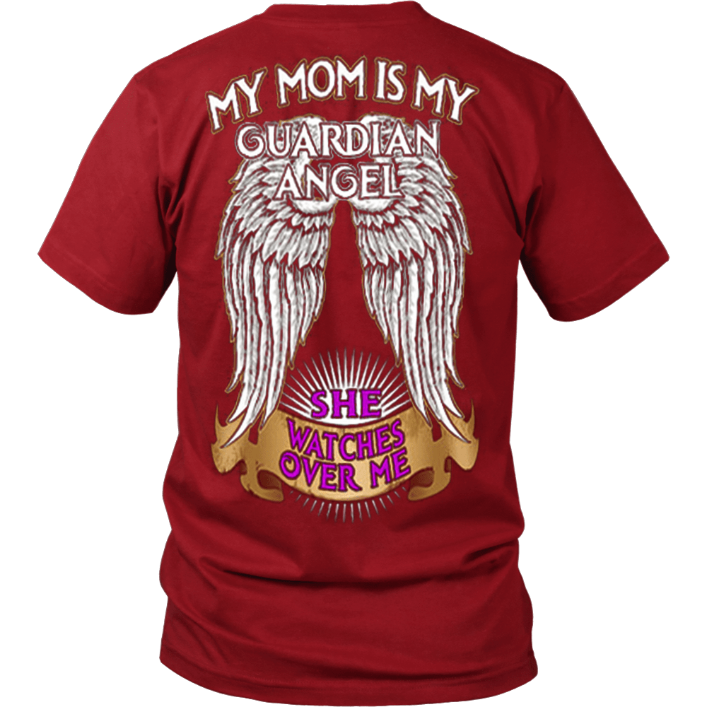 My Mom Is My Guardian Angel - Vietees Shop Online