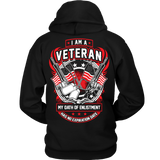I Am A Veteran - Flag and Guns T-Shirt & Hoodie - Vietees Shop Online
