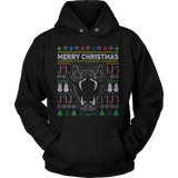 SNAKE WILDLIFE UGLY CHRISTMAS SWEATER HOODIE - Vietees Shop Online