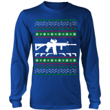 Ar 15 ar15 ugly christmas sweater xmas - Vietees Shop Online - 10