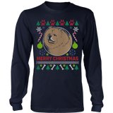 Chow Chow Dog Breed Ugly Christmas Sweater Hoodie - Vietees Shop Online - 8