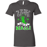 All You Need Is Love and a Beagle - Vietees Shop Online