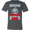Image of FIREFIGHTER DAD - Vietees Shop Online