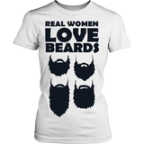 Real women love beards T-shirt - Vietees Shop Online