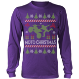 Motocross ugly christmas sweater - Vietees Shop Online