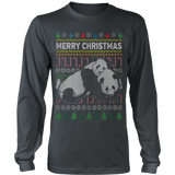 PANDA WILDLIFE UGLY CHRISTMAS SWEATER HOODIE - Vietees Shop Online