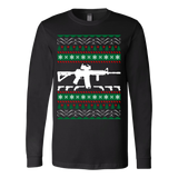 Ar 15 ar15 ugly christmas sweater xmas - Vietees Shop Online - 1
