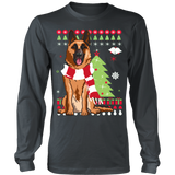Christmas Ugly Sweater-GERMAN SHEPHERD - Vietees Shop Online