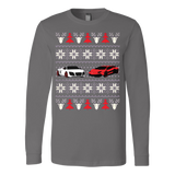 Racing Car Ugly Christmas Sweatshirt - Vietees Shop Online - 5