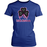 Female Irish Attitude T-shirt - Vietees Shop Online