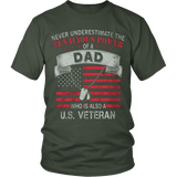 DAD AND ALSO A VETERAN - Vietees Shop Online