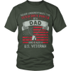 Image of DAD AND ALSO A VETERAN - Vietees Shop Online