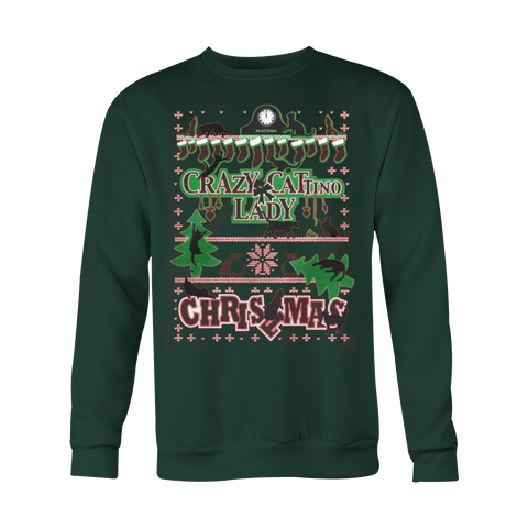 Cat Lady Ugly Christmas Sweatshirt Gear - Vietees Shop Online - 1