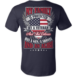 MY FAMILY IS PROTECTED BY A VETERAN - Vietees Shop Online