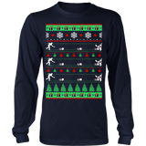 Bowlers bowling christmas ugly sweater - Vietees Shop Online - 7
