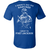 I didn't go to Harvard I went to Fort Jackson t shirt - Vietees Shop Online