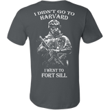 I didn't go to Harvard I went to Fort Sill T- Shirt - Vietees Shop Online