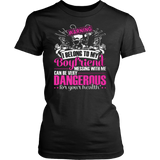 Warning - I belong to my boyfriend T-shirt - Vietees Shop Online
