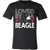 Loved by a Beagle - Vietees Shop Online