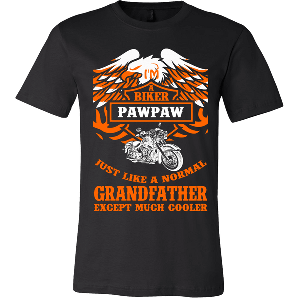 Biker Pawpaw Just Like a Normal Except Much Cooler - Vietees Shop Online