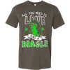 Image of All You Need Is Love and a Beagle - Vietees Shop Online