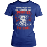 I SAVE MY PIT BULL - Vietees Shop Online