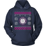 Nurses Daughter Ugly Christmas Sweater Hoodie - Vietees Shop Online - 3