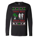 Surfing well ugly christmas sweater - Vietees Shop Online