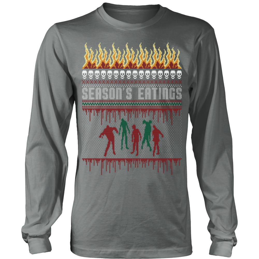 Zombie Christmas Sweater.Zombie Ugly Christmas Sweater Vietees Shop Online
