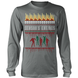 Zombie ugly christmas sweater - Vietees Shop Online - 12