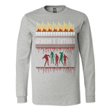 Zombie ugly christmas sweater - Vietees Shop Online - 4