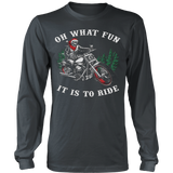 Funny Ride Ugly Christmas Sweater Hoodie - Vietees Shop Online